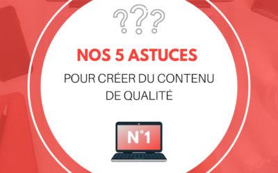 Rédiger du contenus de qualité pour votre site internet